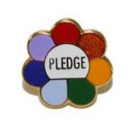 pledge pin