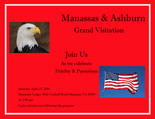 Manassas / Ashburn Grand Visitation